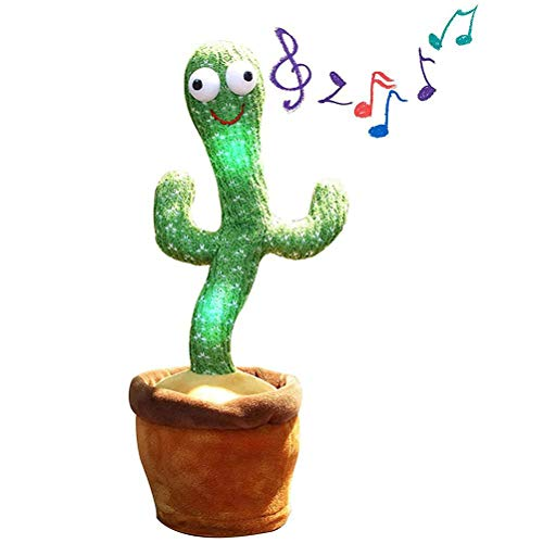Yolluu Kaktus-Plüschspielzeug, Kinderspielzeug, elektronisches...