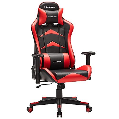 SONGMICS Gaming Stuhl, Bürostuhl, ergonomischer...