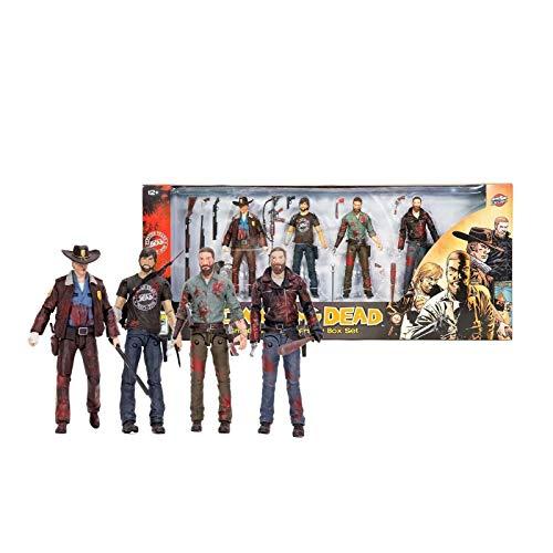 McFarlane The Walking Dead Rick Grimes 15th Anniversary Box Set Actionfiguren
