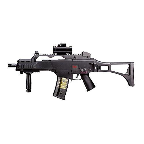 HECKLER & KOCH Softairgewehr Elektrisch AEG 6 mm Airsoft Gewehr, Schwarz