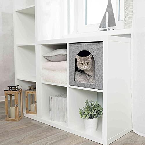 Trixie 44087 Kuschelhöhle Ella für Regal, 33 × 33 × 37 cm,...