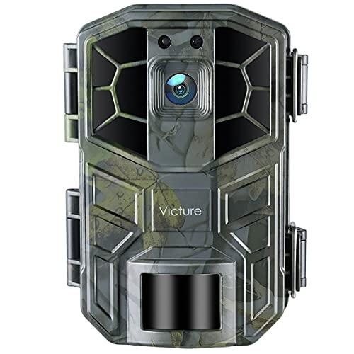 Victure WLAN Wildkamera 30MP 4K HD-Video Jagdkamera mit...