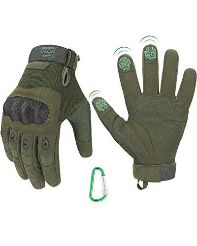 Taktische Handschuhe, Motorradhandschuhe mit Kletterschnalle,...