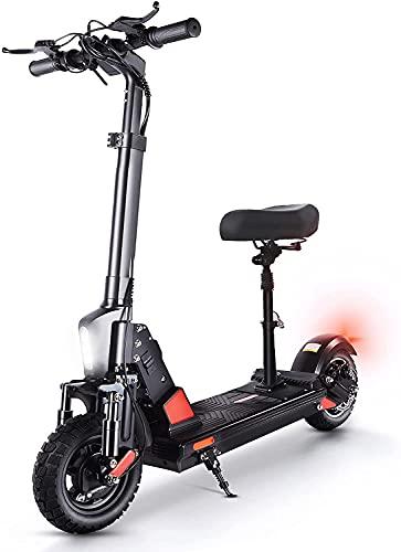 Elektro Scooter mit Sitz 10 Zoll Elektroroller 500W Motor bis zu...