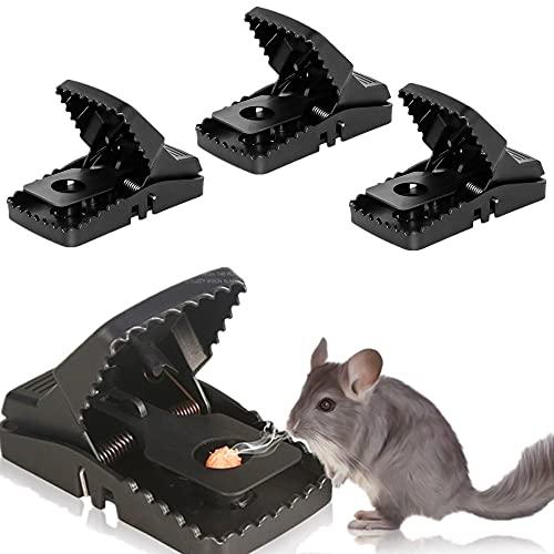 U/N Rattenfalle Schlagfallen, 4er Set Umweltfreundlich...