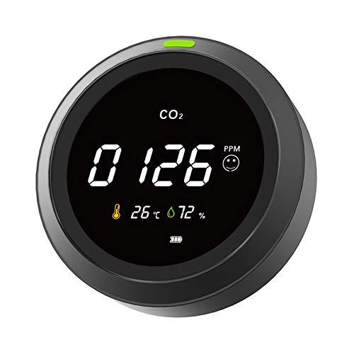 CO2 Messgerät, Protmex 3 in 1 Kohlendioxid Detektor, Temperatur,...