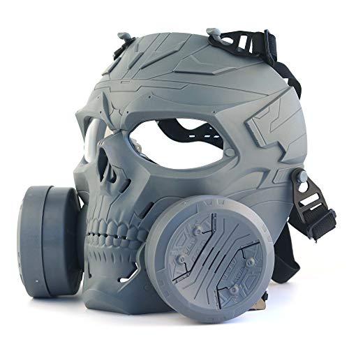 ATAIRSOFT Tactical Skull Vollmaske mit doppelten...