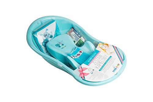 Tega Baby ® SET 5-teilig Badewanne Badesitz für Baby, ab 0...