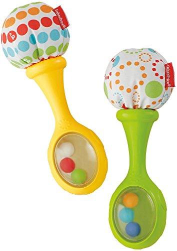 Fisher-Price BLT33 - Babys Rumba Rasseln Babyspielzeug und...