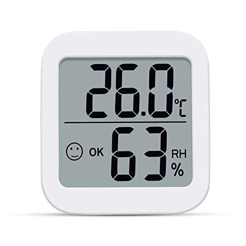 Aplusdeal Digitales Thermo-Hygrometer Innen Thermometer...