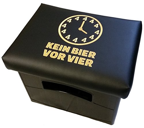 Design BierEx Bierkasten Sitz Bierkastensitz für Bierkiste...