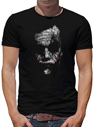 TShirt-People Joker Newsletter T-Shirt Herren XXL Schwarz