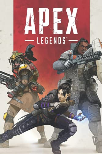 Apex Legends Notebook: - 110 Pages, In Lines, 6 x 9 Inches