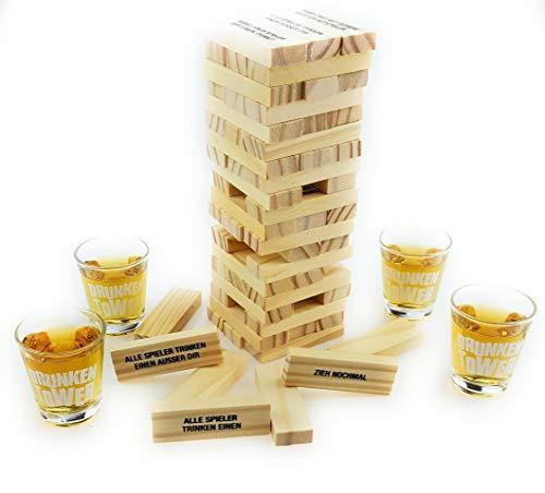 Bambelaa! Trinkspiel Partyspiel Wackelturm Drunken Tower...