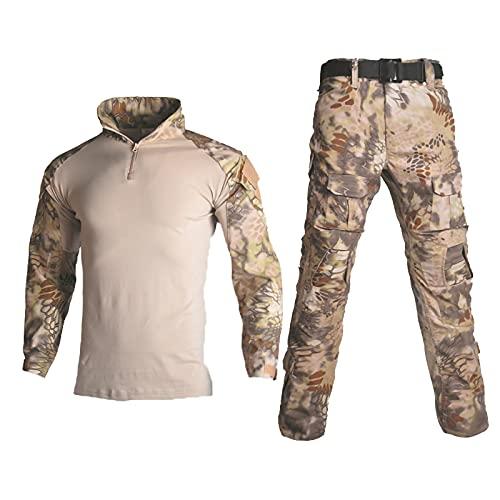 Unisex Airsoft-Kleidung, taktischer Anzug für Herren, Militär,...