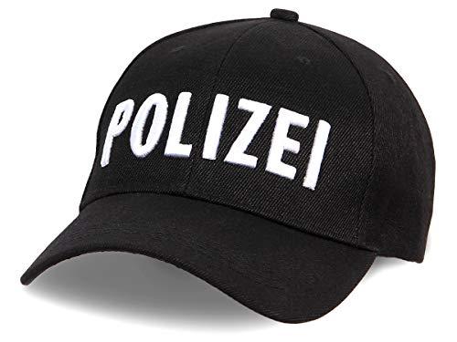 Alsino Unisex Baseball Cap Polizei Motiv Bestickt verstellbar aus...