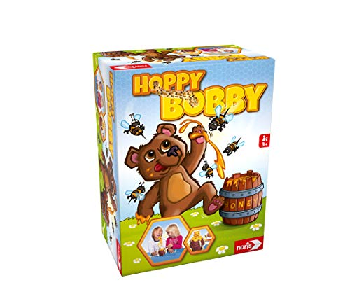 Noris 606061476 Hoppy Bobby, Der lustige Pop Up Aktion...