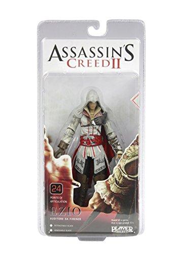 NECA Assassin's Creed 2 Ezio 7 Inch Figur (White Cloak)