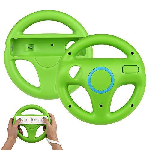 TechKen 2 STK Racing Lenkrad Wheel für Wii Fernbedienung...