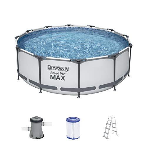 Bestway Steel Pro MAX Aufstellpool-Set mit Filterpumpe Ø 366 x...
