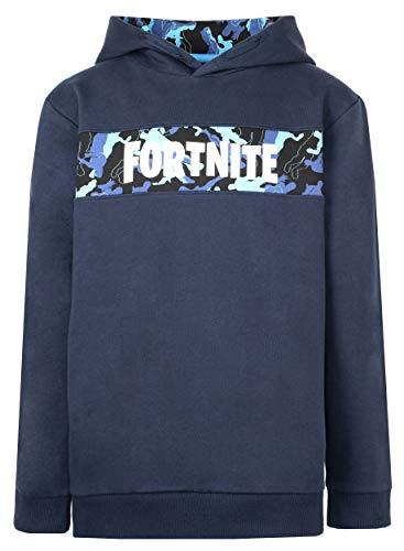 Fortnite - Jungen Hoodies - Fortnite Hoodie - 100% Baumwolle Navy...