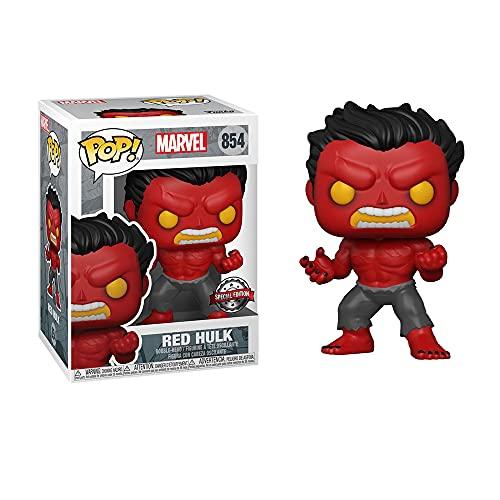 Funko POP! Marvel Red Hulk Vinyl Figur with Chase Variant -...