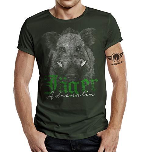 Jäger T-Shirt: Adrenalin Eber L