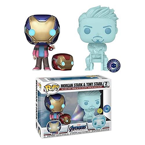 Pop! Vinyl Marvel Movies #2 Morgan Stark & Tony Stark (2Er...
