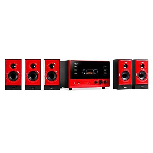 oneConcept V51 Heimkinosystem - 5.1 Surround Sound System,...