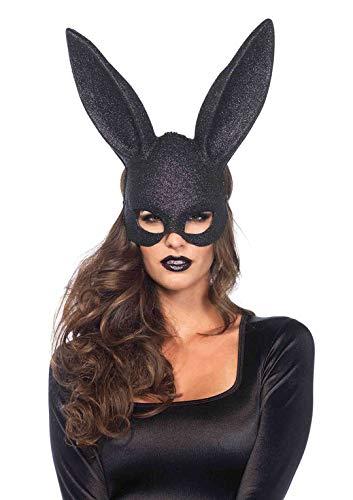 Leg Avenue 376022001 3760 - Glitter Maskerade Kaninchen-Maske -...