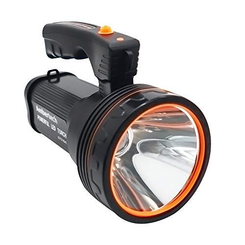 Ambertech Wiederaufladbare 7000 Lumen Super Heller LED...