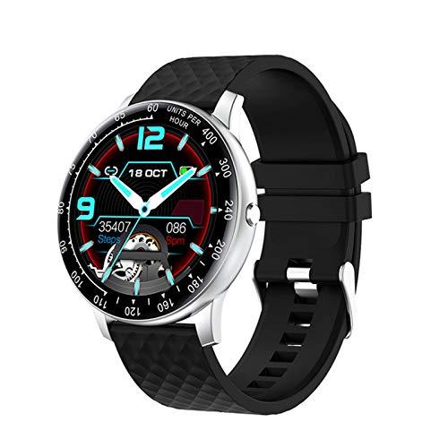 Smart Watch Herren 1,28 Zoll Wasserdicht Bluetooth Musik Pulsuhr...