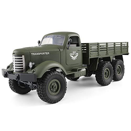 GoolRC Q60 1/16 2,4G 6WD RC Offroad Crawler Militär LKW Armee...