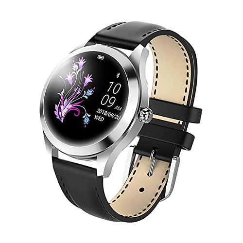 HUAHAP IP68 wasserdichte Smartwatch, Pulsmesser, Schlafmonitor,...