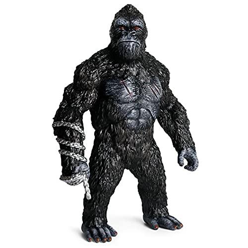 31CM King Kong Figur Action Anime Figur Q Version Statue ABS...