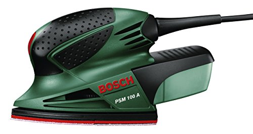 Bosch Multischleifer PSM 100 A (100 Watt, im Koffer)