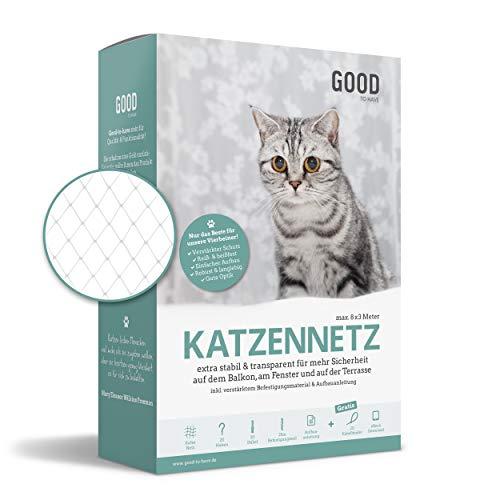 Good-to-have Katzennetz für Balkon und Fenster   8x3m...