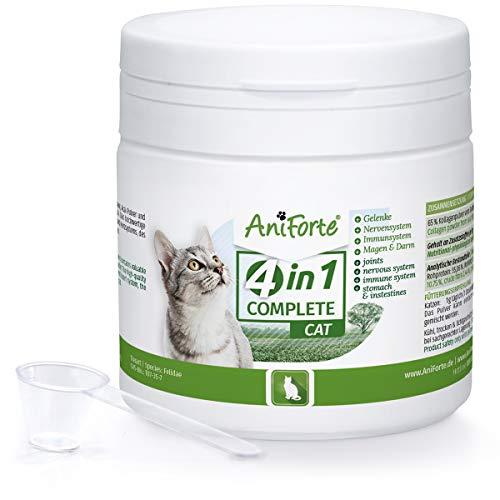 AniForte 4in1 Complete Cat 60g - Rundumversorgung für Katzen,...