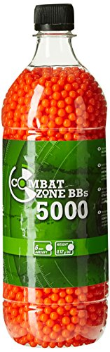 Combat Zone Basic Selection Airsoft Munition Flasche, Rot, One...