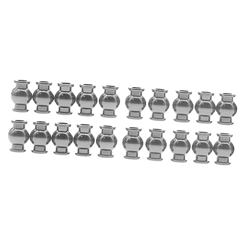 Sharplace 22 Stück Metall RC LKW Kugelkopf für Arrrma 4WD 1/10...