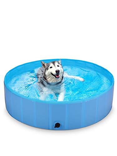 BlueFire Hundepool 120x30cm, Hund Schwimmbecken Planschbecken...