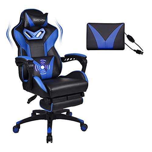 YU YUSING Massage Racing Gaming Stuhl Bürostuhl Drehstuhl...