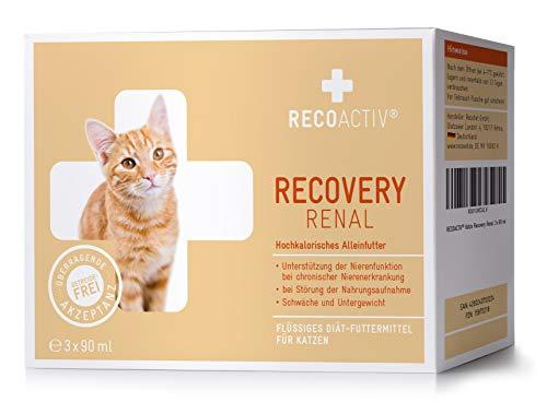 RECOACTIV Recovery Renal für Katzen, 3 x 90 ml, hochkalorisches...