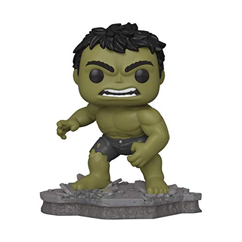Funko Pop! Deluxe, Marvel: Avengers Assemble Series - Hulk, Amazon Exclusive, Figure 2 of 6