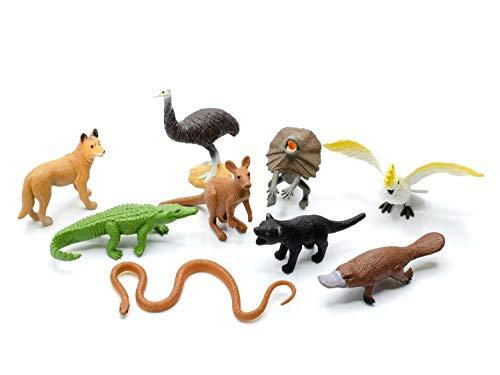 Miniblings 9X Australien Set Figuren Aufstellfiguren Tierfiguren...