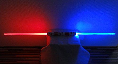 Doppel Leuchtschwert 110 cm Deko Laserschwert Lichtschwert...