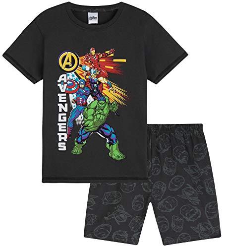 Marvel Schlafanzug Jungen, Kurzer Kinder Schlafanzug Jungen und...