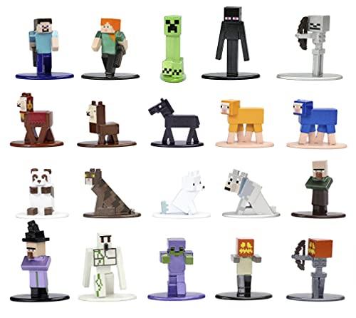 Jada Toys 253265004 Minecraft Nano Sammelfiguren, Wave 5, 20...