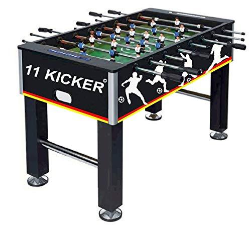 Izzy Kickertisch 45kg Tischkicker Profi Kicker Tischfußball, 2 Bälle, nahtlos hochgezogene...