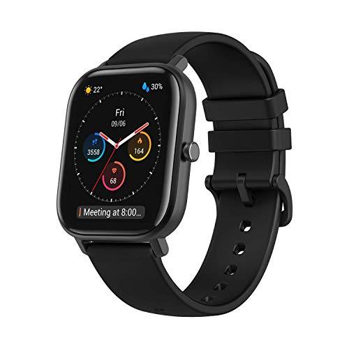"Amazfit Smartwatch GTS mit 12 Sportmodi, GPS 1.65"" AMOLED..."